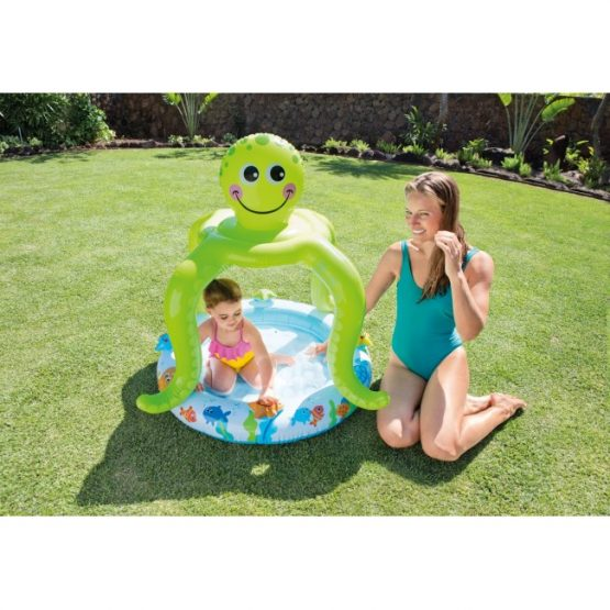 Smiling Octopus Shade Baby Pool (40×41)