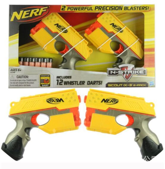Nerf N Strike Scout Ix-3 2-pack with 12 Whistler Darts