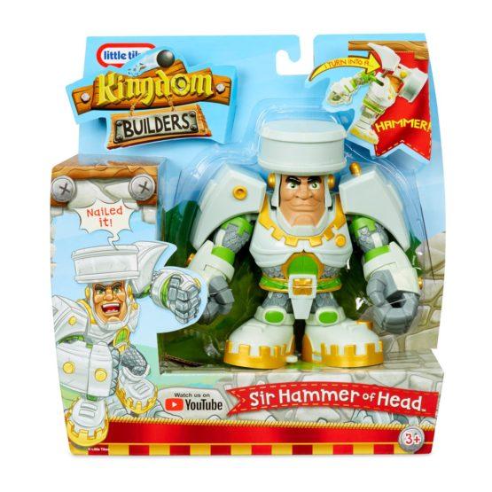 Little Tikes Kingdom Builders Sir Hammer of Head