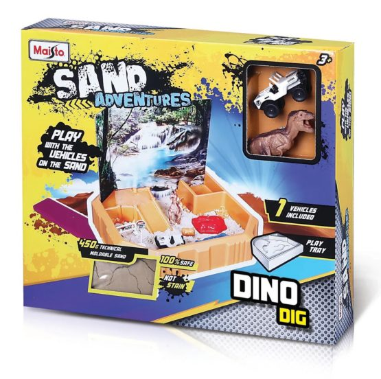 Maisto Sand Adventures playset Dino Dig – Color & Style May Vary