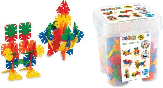 DeDe Magic Puzzle Blocks 400 Pieces