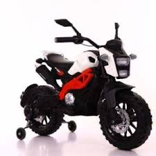 Smart KTM Look Ride On Bike with Hand Race
