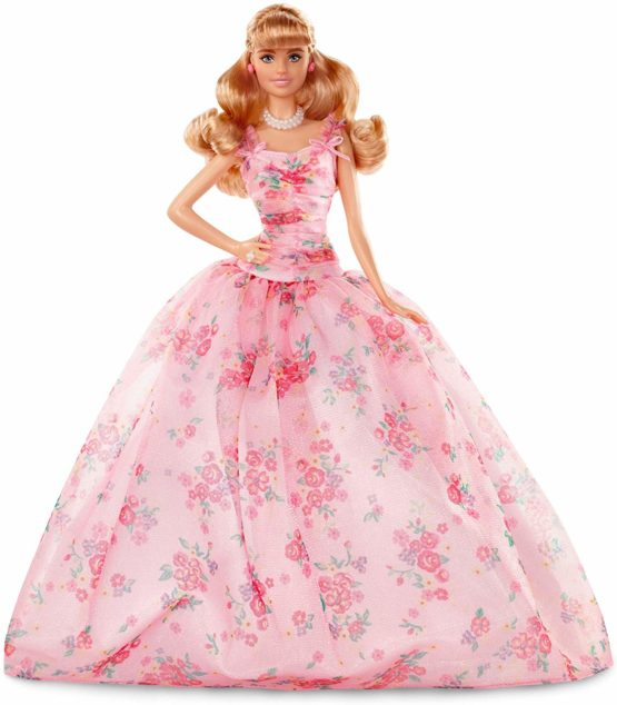 Barbie Collector Birthday Blonde Hair