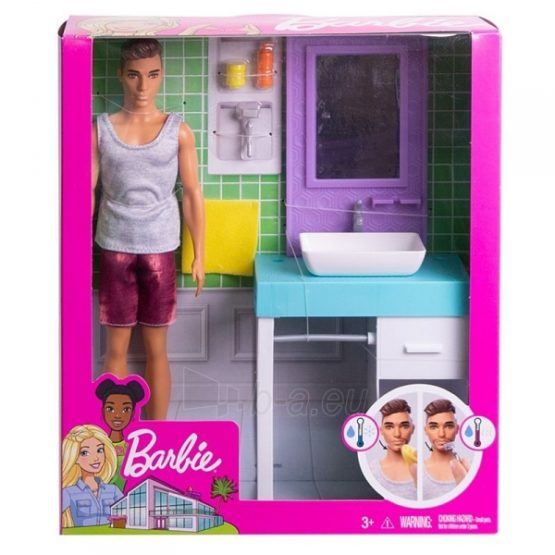 Barbie Ken with Furniture – Style May Vary