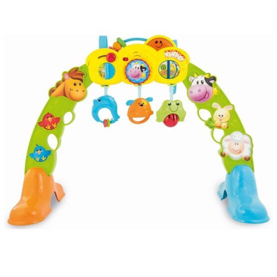 Winfun 3 in 1 Barnyard Pals Girls Play Gym