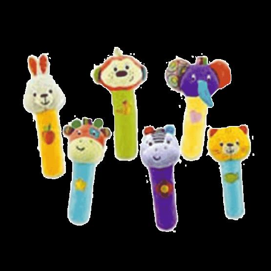 Winfun 12Pcs Play Rattle Stick