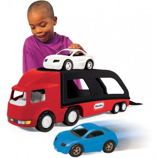 Little Tikes Big Car Carrier- Red/ Black