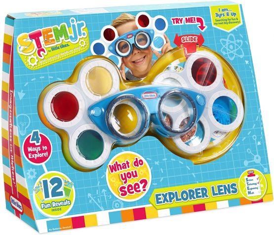 Little Tikes Stem Jr. Explorer Lens – Bug Eye with 4 Vision Lenses, Multicolor