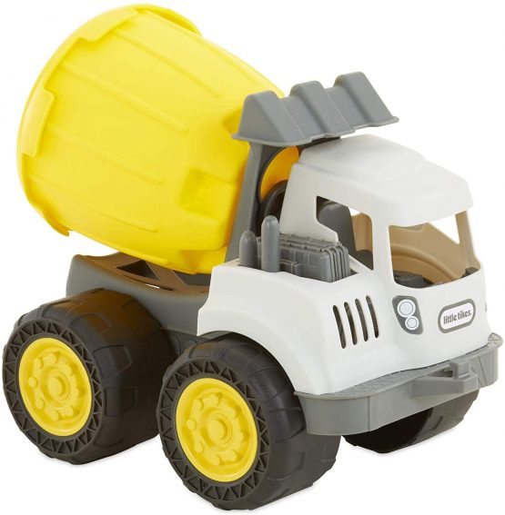 Little Tikes Dirt Digger 2-in-1 Cement Mixer with Bucket Sand Toy