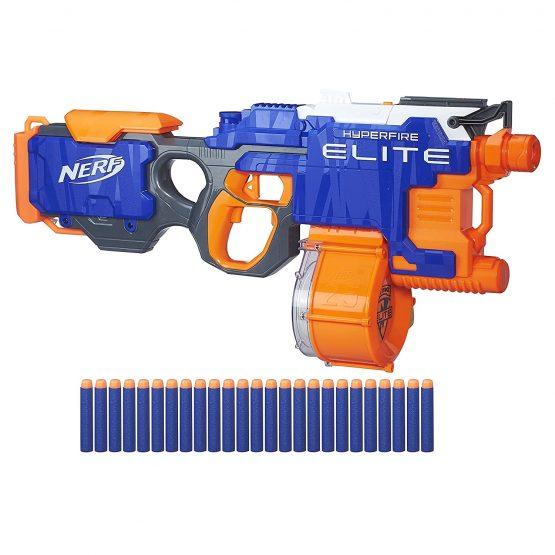 Nerf N-Strike Elite Hyperfire Blaster Toy Gun for Kids