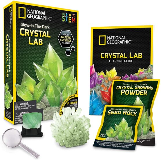 National Geographic Crystal Lab Green Glow-in-the-Dark)