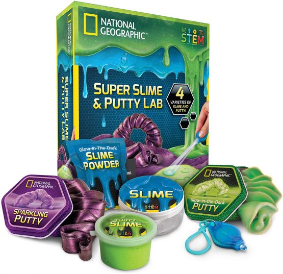 National Geographic Super Slime and Putty Lab