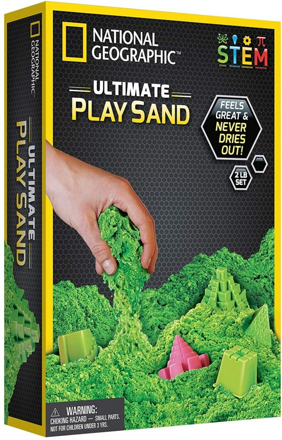 National Geographic Ultimate Play Sand Green – 2 pound