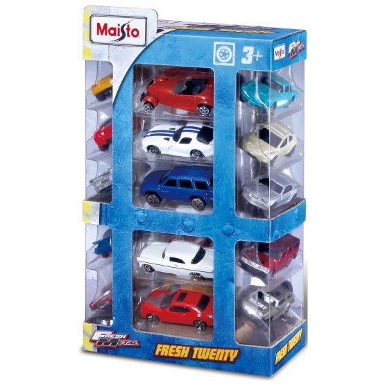 MAISTO FM Vehicle 20 Pack Set