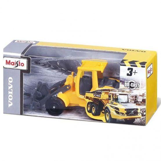Maisto 14364 Die Cast Auto Volvo 3″ Construction Vehicle – Design May Vary