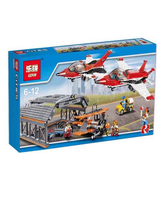 LEPIN Blocks set Airport Air Show City