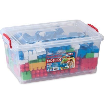 Dede 1329 240 Pieces Brio Blocks in Case