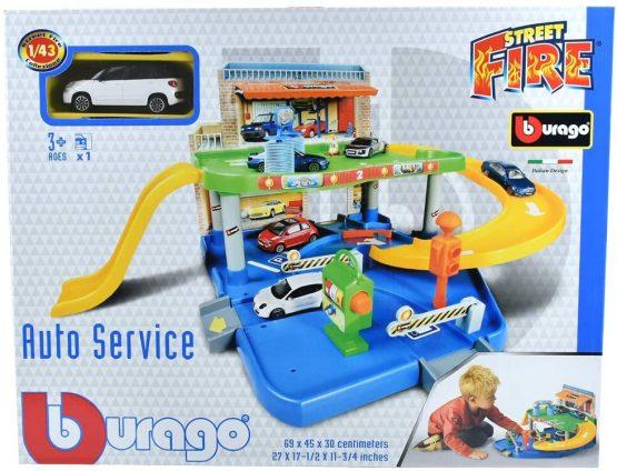 Bburago 30039 Car Service Play Set