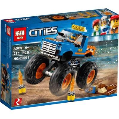 Lepin 02091 Cities Monster Truck