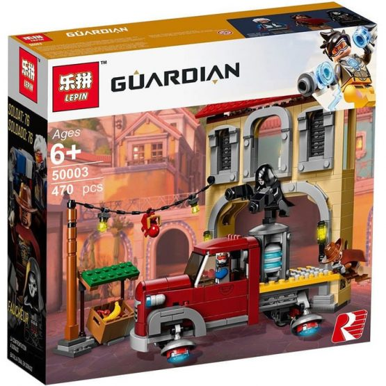 Lepin 50003 Dorado Showdown Guardian Blocks