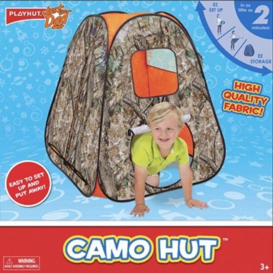76307 CAMO Hut Kids Tent Activity