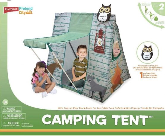 87031 Play Hut City Camping Tent for Kids