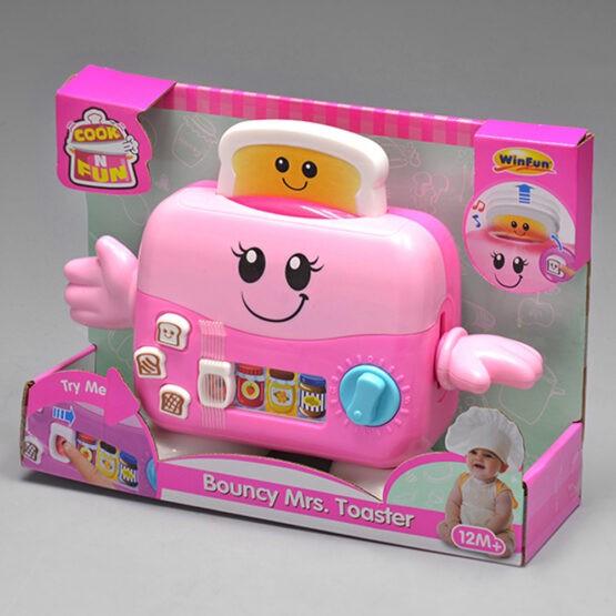 WinFun 0753G Bouncy Toaster Sound & Light Art