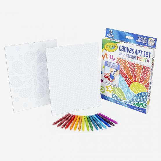 Crayola 040387 Pixel Art Crayon Melter make amazing designs