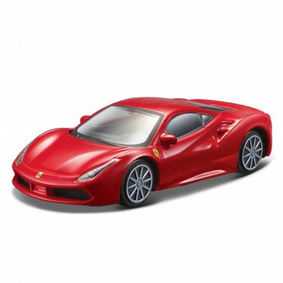 Bburago 56105 Beautiful Ferrari Red Colour 5 Pack