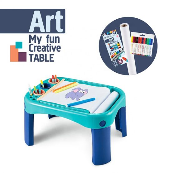 Cute Learning Art Painting Board Kids Table Set For Kids
