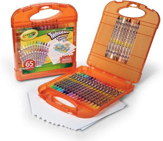Crayola 045225 Twistable Colored Pencils Box