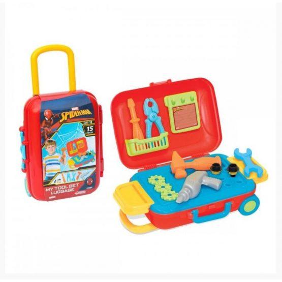 DeDe 3484 Spiderman Baby Tool Set Toy