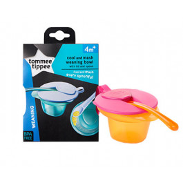 Tommee Tippee 446702 COOL AND MESH WEANING BOWL (NEW COLOR)