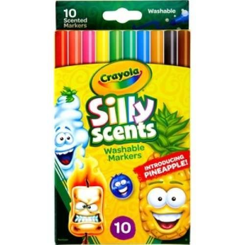 Crayola 585071 Silly Scents Washable Markers Pack of 10