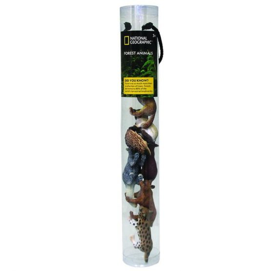 National Geographic D6303 8 PCS Forest Animals iN Tube