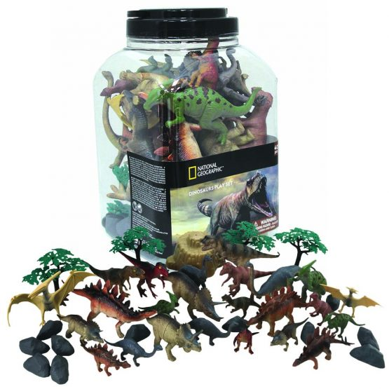 National Geographic D6604 Dinosaurs Animal Play Set
