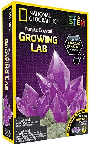 National Geographic PCRYSTAL Purple Crystal Growing Lab