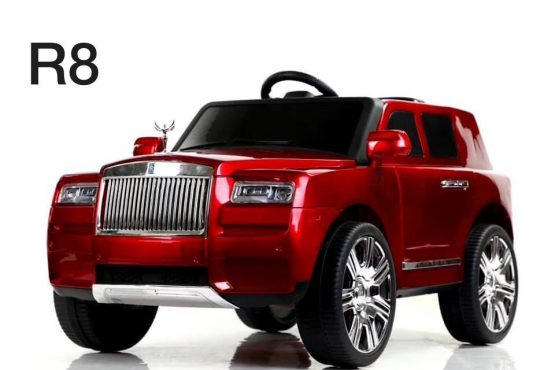 Kids Rides On R8 Royal Royce 12v Battery Electric Car