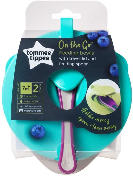 Tommee Tippee 446718 EASY SCOOP FEEDING BOWL ( NEW COLOR – RUNNING CHANGE)