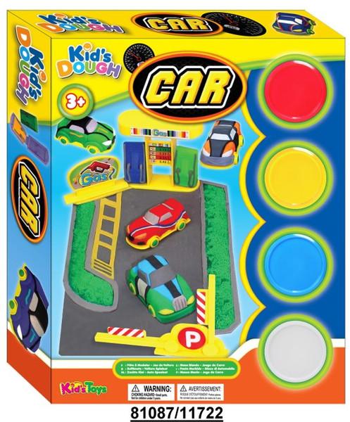 Kids Dough 11722 Car Clay Play Set