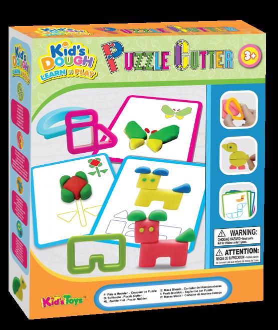 Kids Dough 12601 Puzzle Dough Play Set