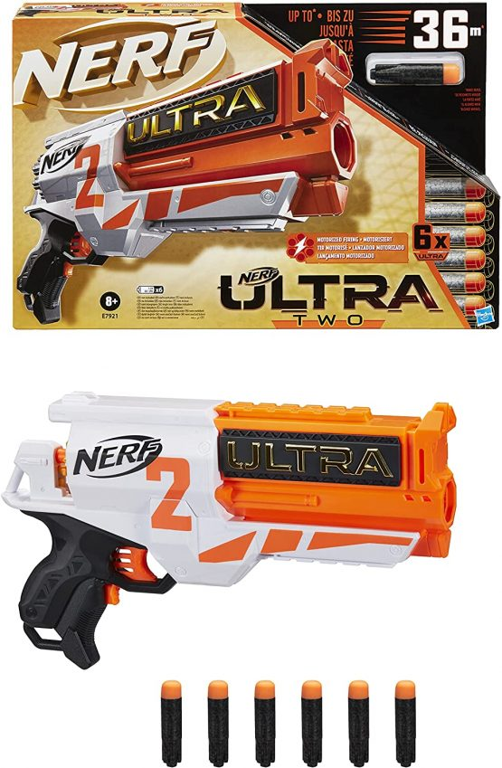 NERF E9217 4 Pump Action for Kids Activity Fun Game
