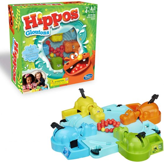 Hasbro 98936 Hungry Hippo Game for Kids
